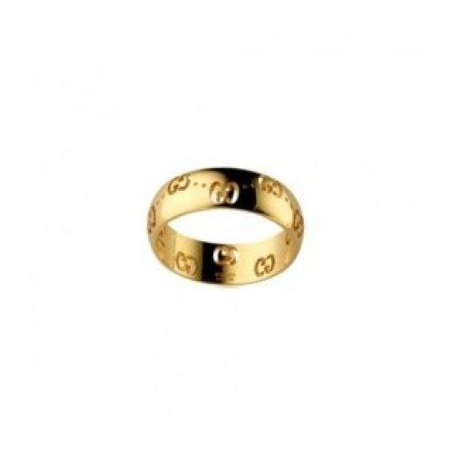 GUCCI RING ICON BOLD 18KT YELLOW GOLD MEASURES 12 246470 J8500 8000