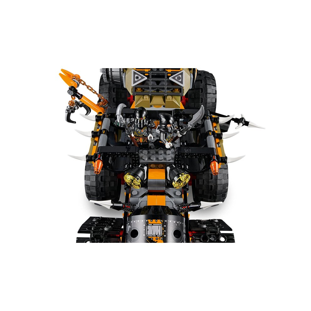 Lego 70654 ninjago dragon hunters dieselnaut toy tank ninja warriors vehicle building sets for - Dragon ninjago lego ...