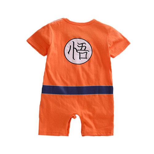 Goku-inspired Baby Infant Superhero Dress
