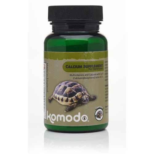 Komodo Calcium With Vitamins For Herbivores 115g