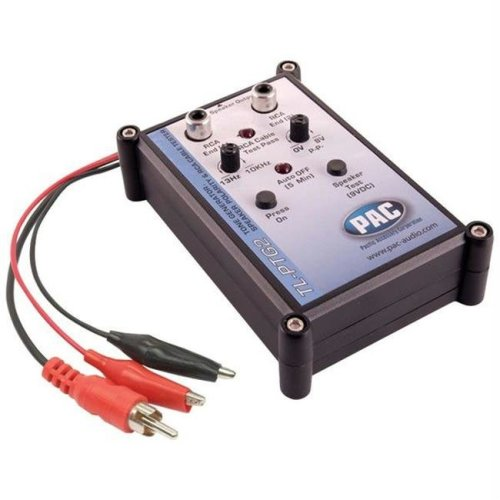 Pac TL-PTG2 Tone Generator  Speaker Polarity and Rca Cable Tester