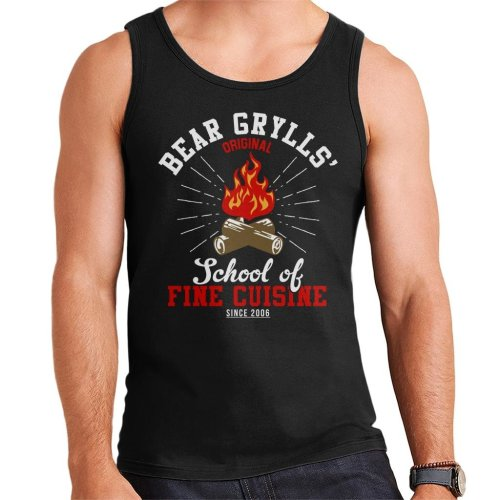 Bear Grylls School Of Fine Cuisine Men's Vest