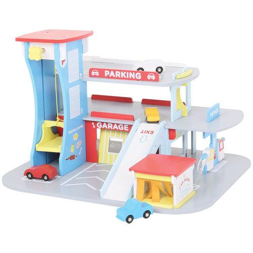 Bigjigs Toys Heritage Playset City Auto Centre