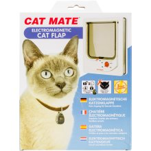 Cat Mate Electromagnetic Cat Flap-White