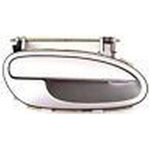 Vauxhall Opel Omega Rear Silver Door Handle Right Side 90457170