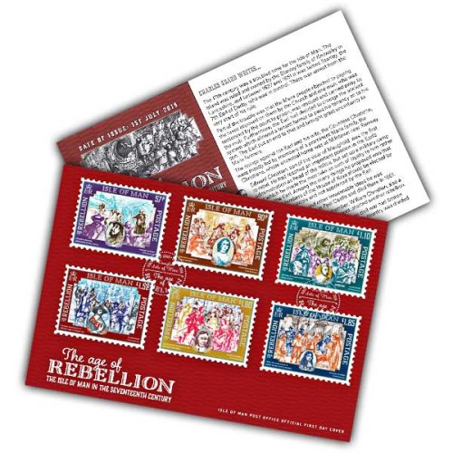 Isle of Man 2019 Stamps The Age of Rebellion First Day Cover