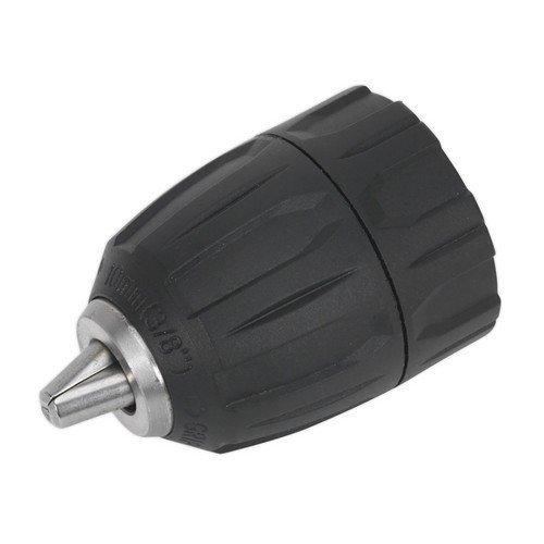 "Sealey DC003 Drill Chuck Keyless 10mm 3/8""-24UNF"