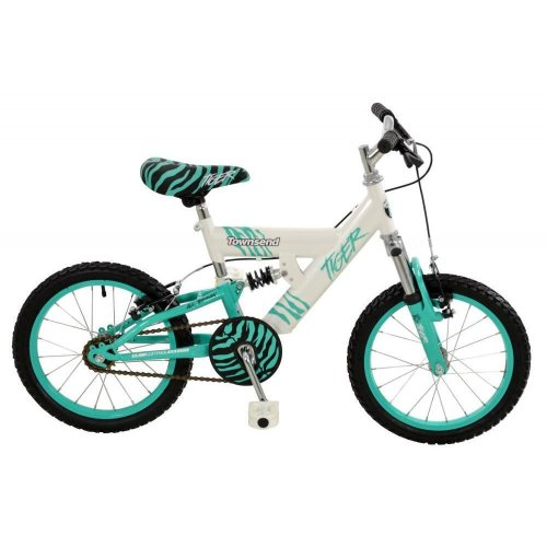 "Townsend Tiger Girls 16"" Wheel Single Speed Full Suspension MTB Bike T1614020-1"