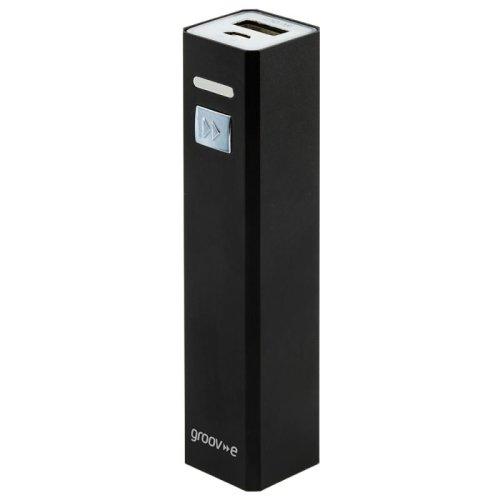 Groov-e GVCH2600BK Portable Power Stick Charger 2600mAh - Black
