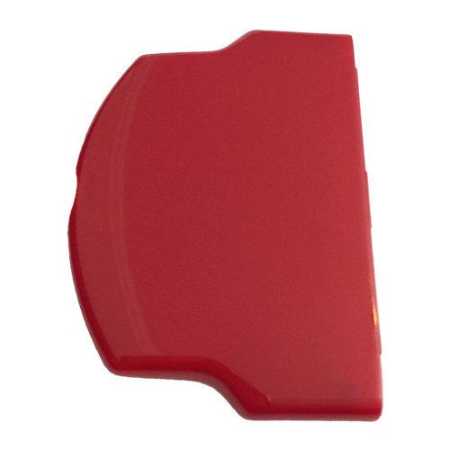 Battery cover for PSP 2000 3000 Slim & Light door case ZedLabz - Glossy Red