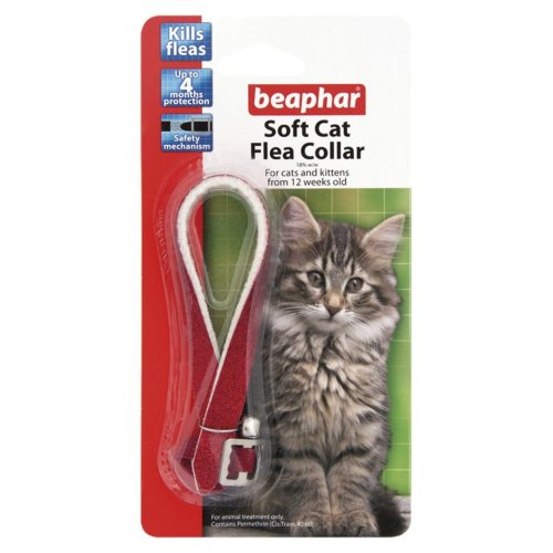 Beaphar Cat Flea Collar Glitter (Pack of 12)