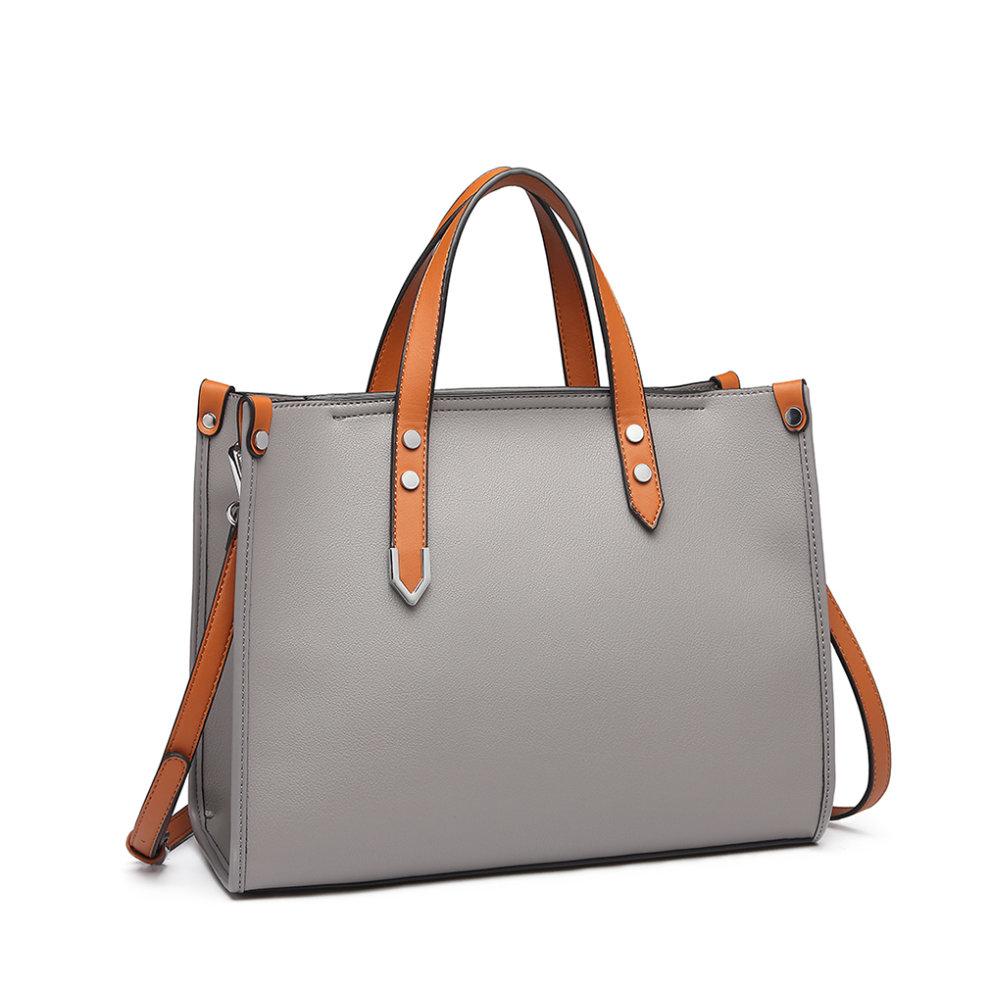 b9bdfd452c047 ... Miss Lulu Women Handbag Shoulder Bag Purse Set 2 Pieces - 3 ...
