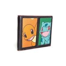 Pokemon Starting Characters BiFold Wallet - Multi Colour (MW290207POK)