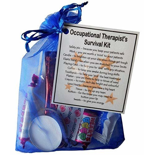 Occupational Therapist's Survival Kit - Great gift for a Occupational Therapist gift, thank you gift for Occupational Therapist Secret Santa Gift
