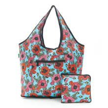 Poppy Expandable Weekend Bag slips over suitcase