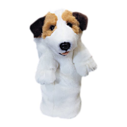 Daphnes Jack Russel Golf Driver Headcover