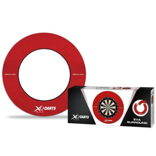 XQmax Darts Dartboard Surround EVA Red QD7000420