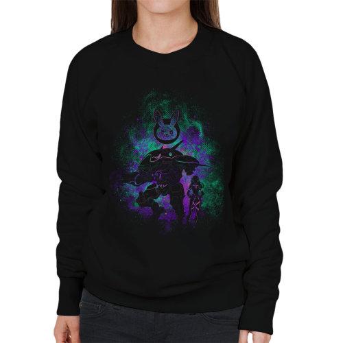 D Va Skin Overwatch Women's Sweatshirt