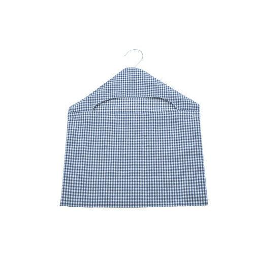 Walton & Co Auberge Gingham Peg Bag Nordic Blue