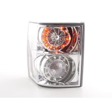 Led Taillights Land Rover Range Rover Year 02-05 chrome with Led indicator