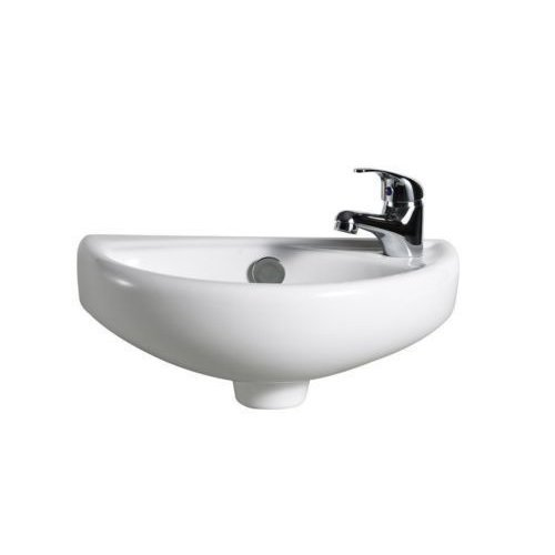 Cloakroom Basin Mini Sink with tap and waste