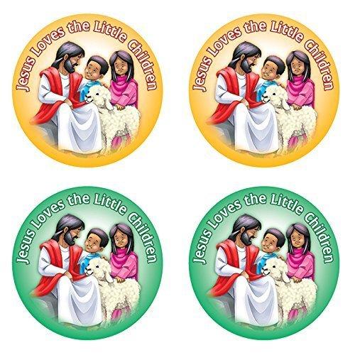 Jesus Loves The Little Children Sticker