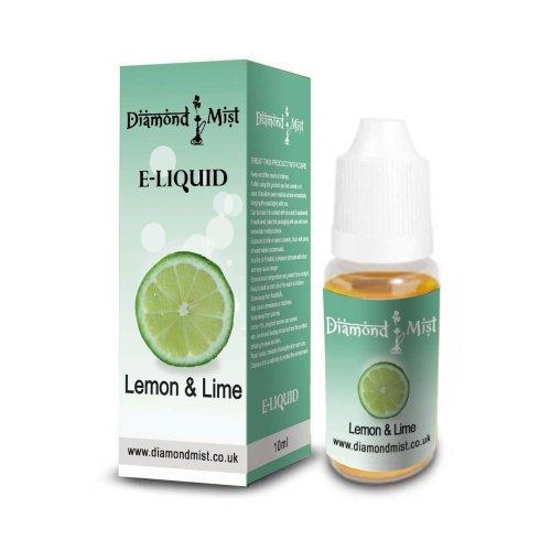 Diamond Mist 10 ml Lemon and Lime E-Liquid