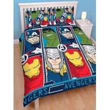 Marvel Avengers Tech Double Duvet Cover Set Polyester