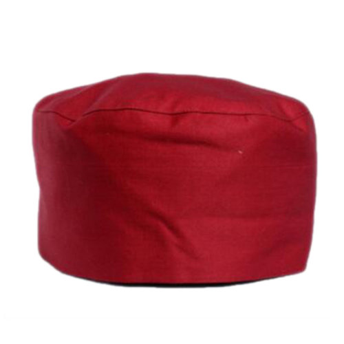 Japanese Fashion Cook Hats Hotel Cafe Flat Hat Adjustable Chef Hats-Red
