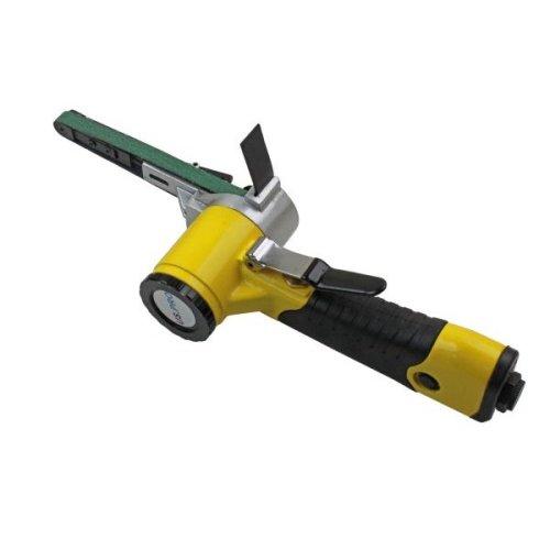 US PRO 10mm Variable Speed Air Belt Sander + 3 x 330mm x 10mm Belts