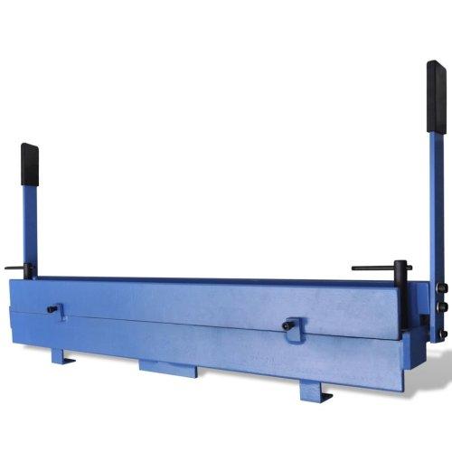 vidaXL Manually Operated Sheet Metal Folding Machine 930mm Workshop Folder