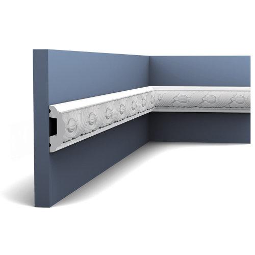 Orac Decor P1020F LUXXUS Flexible Panel Moulding Cornice Stucco   2 m