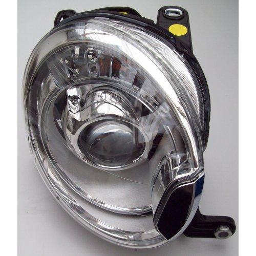 Fiat 500 Abarth Genuine New Xenon Right Side Headlamp 52059132