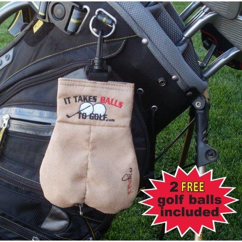 MySack It Takes Balls to Golf Storage Sack