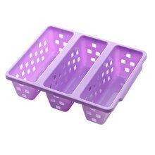 Save Space/Storage/Organization/Functional Shoe Rack Set of Three,Light Purple